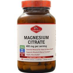 Olympian Labs Magnesium Citrate (133mg) 100 caps