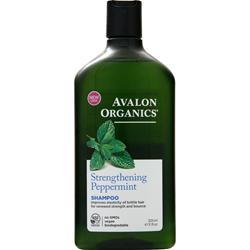 Avalon Organics Shampoo Strengthening Peppermint 11 fl.oz