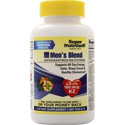 Super Nutrition Men's Blend 180 vcaps