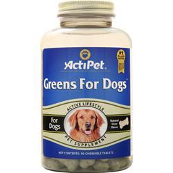Actipet Greens for Dogs 9. 90 chews