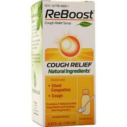 Heel ReBoost - Cough Relief Syrup 4.23 oz