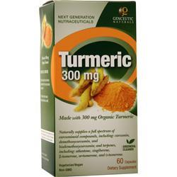 Genceutic Naturals Turmeric (300mg) 60 caps