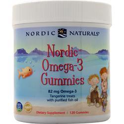 Nordic Naturals Nordic Omega-3 Gummies Tangerine 120 gummy
