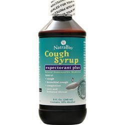 Natrabio Cough Syrup - Expectorant Plus 8 fl.oz