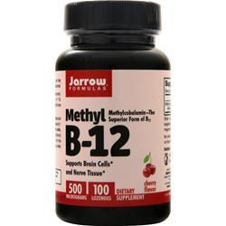 Jarrow Methyl B-12 (500mcg) 100 lzngs
