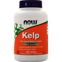 Now Kelp (150mcg) 200 tabs