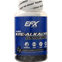 EFX SPORTS Kre-Alkalyn Hardcore 120 caps