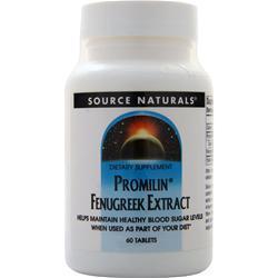 Source Naturals Promilin Fenugreek Extract 60 tabs