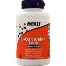 Now L-Carnosine (500mg) 100 vcaps