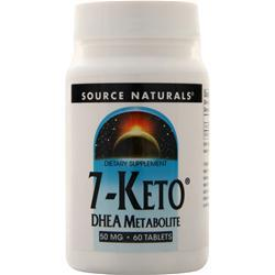 Source Naturals 7-Keto DHEA Metabolite (50mg) 60 tabs