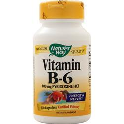 Nature's Way Vitamin B-6 (100mg) 100 caps