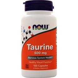 Now Taurine (500mg) 100 caps