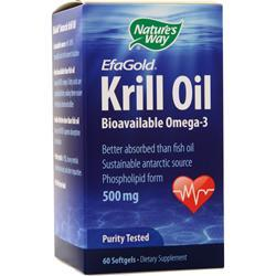 Nature's Way EFA Gold Krill Oil 60 sgels