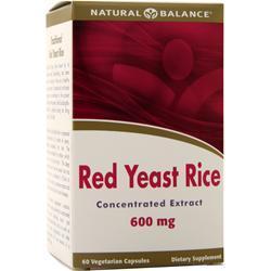 Natural Balance Red Yeast Rice 60 caps