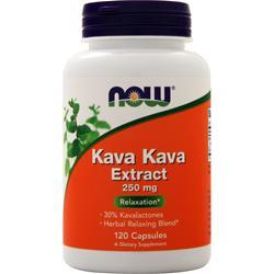 Now Kava Kava Extract (250mg) 120 caps