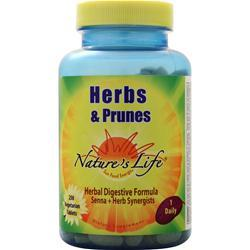 Nature's Life Herbs and Prunes 250 tabs