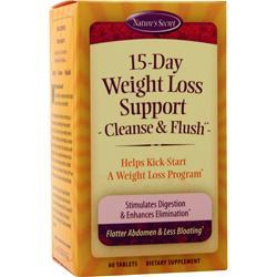 Nature's Secret 15-Day Weight Loss Cleanse & Flush 60 tabs
