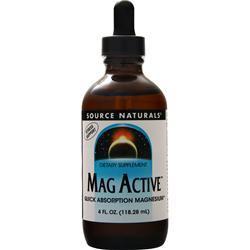 Source Naturals Mag Active 4 fl.oz