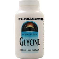 Source Naturals Glycine (500mg) 200 caps