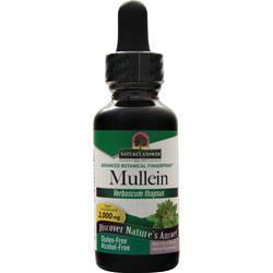 Nature's Answer Mullein Leaf Alcohol-Free (liquid) 1 fl.oz
