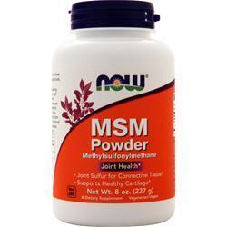 Now MSM Powder 8 oz