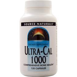 Source Naturals Ultra-Cal 1000 120 caps