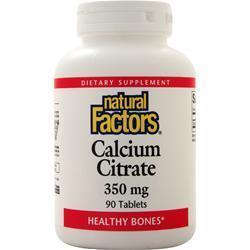 Natural Factors Calcium Citrate (350mg) 90 tabs