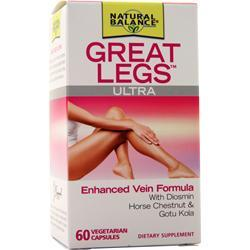 Natural Balance Great Legs Ultra - Vein Formula 60 vcaps