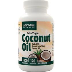 Jarrow Coconut Oil - Extra Virgin 120 sgels