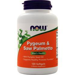 Now Pygeum & Saw Palmetto 120 sgels