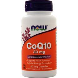Now CoQ10 (30mg) 60 vcaps