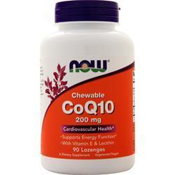 Now CoQ10 (200mg) Orange 90 lzngs