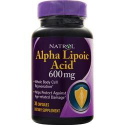 Natrol Alpha Lipoic Acid (600mg) 30 caps