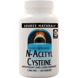 Source Naturals N-Acetyl Cysteine 120 tabs
