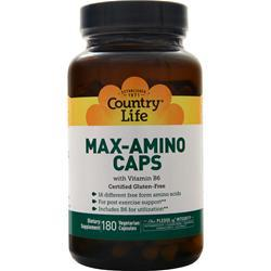Country Life Max-Amino with B-6 180 vcaps