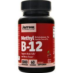 Jarrow Methyl B-12 (5000mcg) 60 lzngs