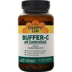 Country Life Buffer-C pH Controlled (500mg) 120 vcaps