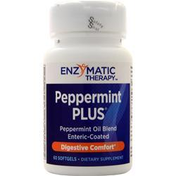 Enzymatic Therapy Peppermint PLUS 60 sgels