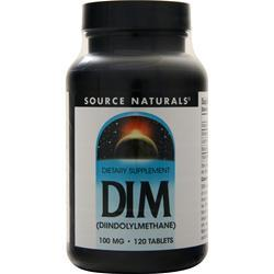 Source Naturals DIM (100mg) 120 tabs