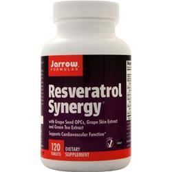 Jarrow Resveratrol Synergy 120 tabs