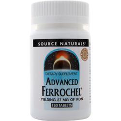 Source Naturals Advanced Ferrochel 180 tabs