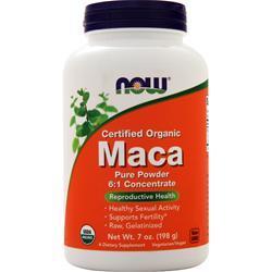 Now Organic Maca Pure Powder 7 oz