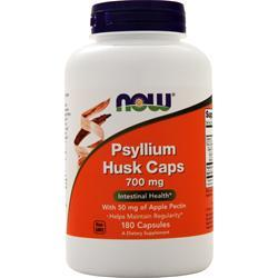 Now Psyllium Husk Caps (700mg) 180 caps