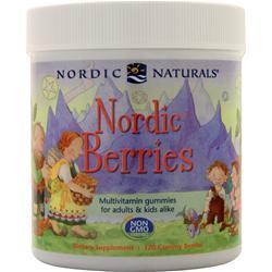 Nordic Naturals Nordic Berries 120 gummy