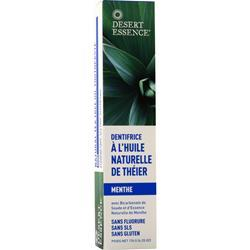 Desert Essence Natural Tea Tree Oil Toothpaste Mint 6.25 oz