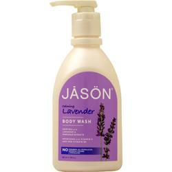 Jason Satin Shower Body Wash Lavender 30 fl.oz