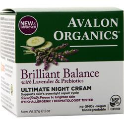Avalon Organics Ultimate Night Cream Lavender 2 fl.oz