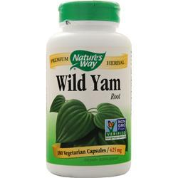 Nature's Way Wild Yam Root 180 vcaps