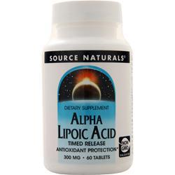 Source Naturals Alpha Lipoic Acid - Timed Release (300mg) 60 tabs