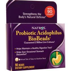 Natrol BioBeads Probiotic Acidophilus 90 caps